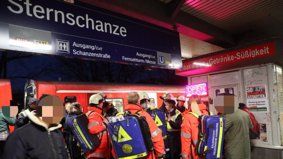 Teroro ataka Hamburgo Metro (pildoma)