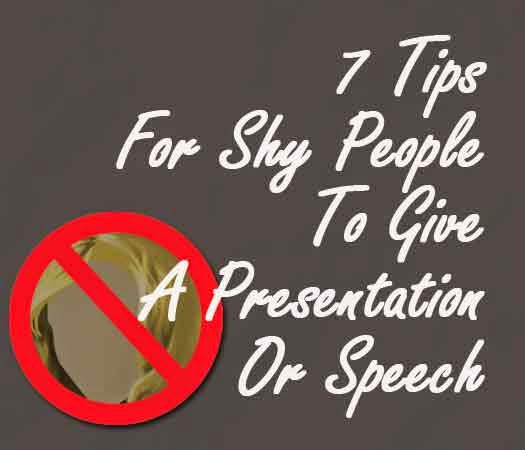 Presentation For A Shy People