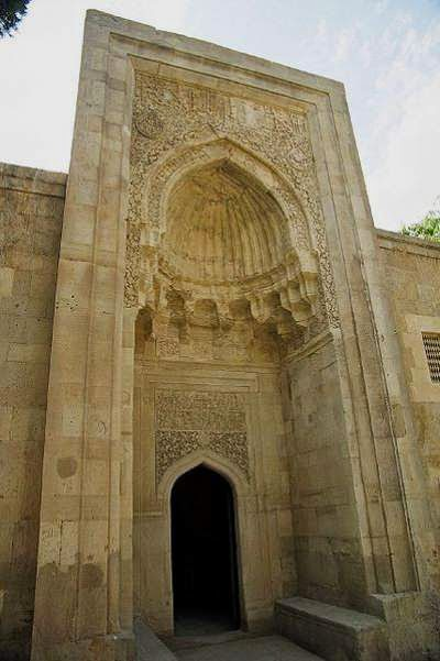 Mausoleum in Baku