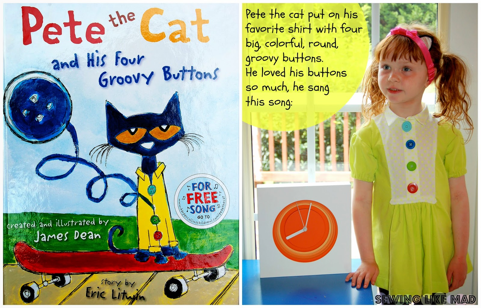 Sew Many Books Pete The Cat