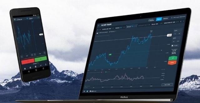 Platform Olymp Trade for online trading