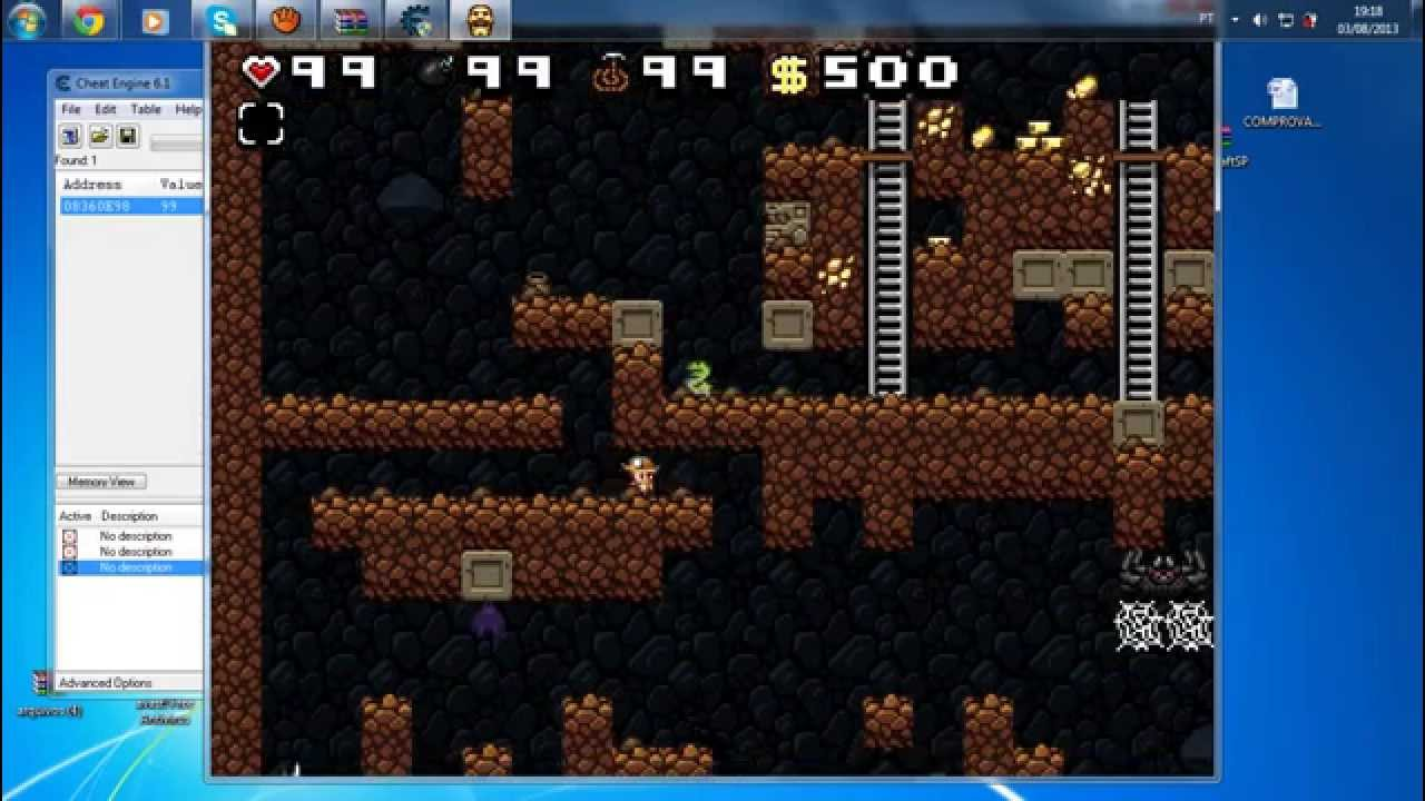 spelunky cheats - woodworking