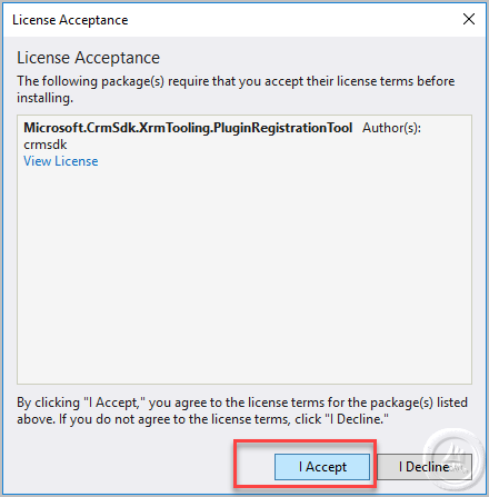 Get Plugin Registration tool and assemblies from NuGet