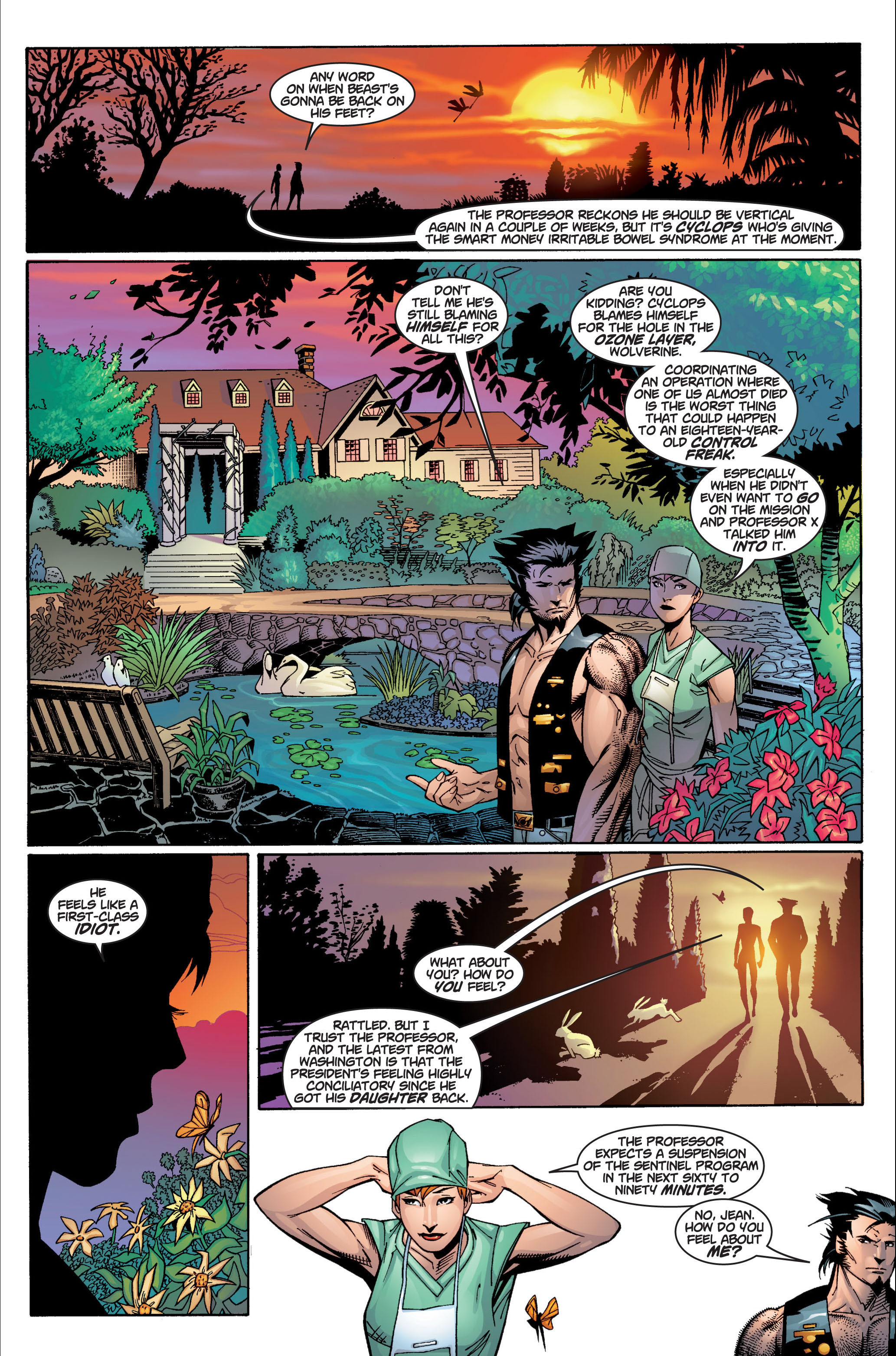Read online Ultimate X-Men comic -  Issue #4 - 12