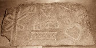 symbols and letters on tehuelche rock art