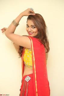 Actress Ashwini in Golden choli Red saree Spicy Pics ~  080.JPG