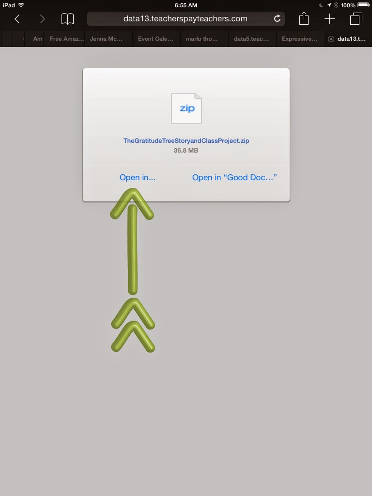 Expressive Monkey's tutorial on how to download a zip file to an iPad