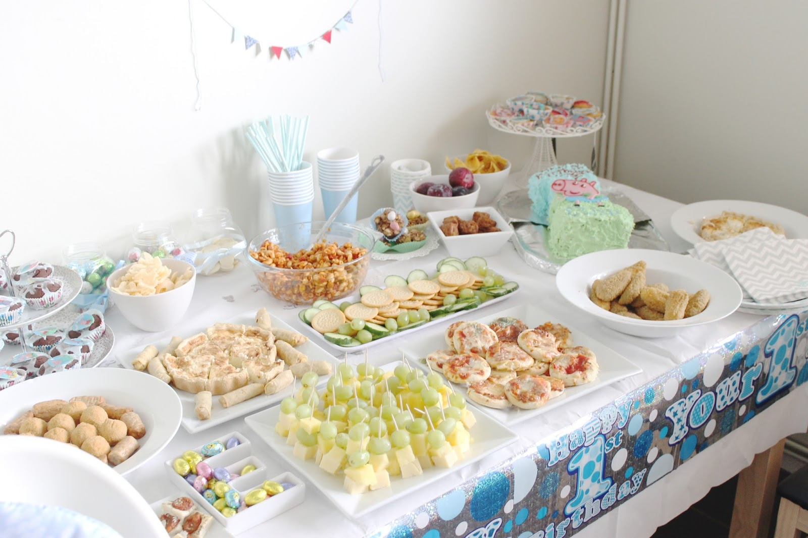 Ethans 1st Birthday: The Party & Decor! - Bump to Baby & Beyond Blog ...