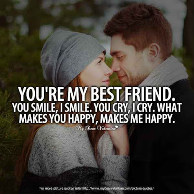 beautiful romantic and friendship love quotes for him and her  1
