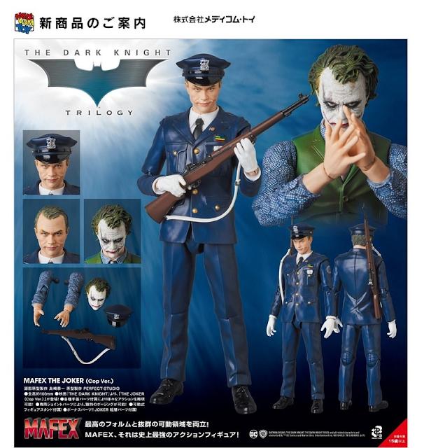 "Nueva imagen del Joker de la película ""The Dark Knight"" - Medicom"