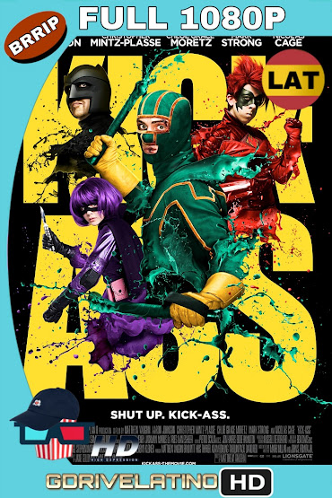Kick-Ass (2010) BRRip 1080p Latino-Ingles MKV