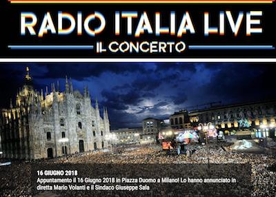 Concerto Radio Italia Live 2018 Milano