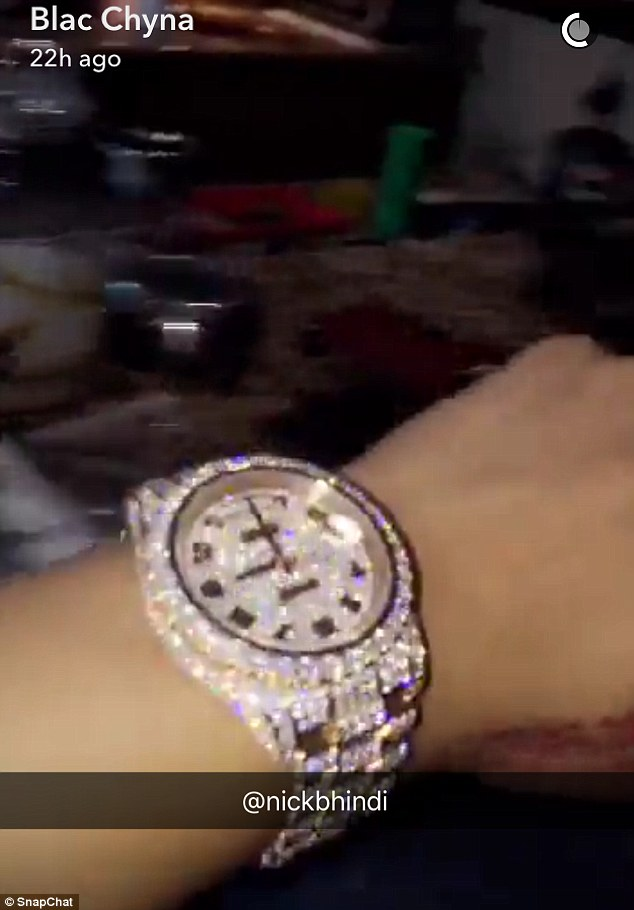 Blac Chyna And Rob K Flaunt 275k Worth Matching Rolex Watches