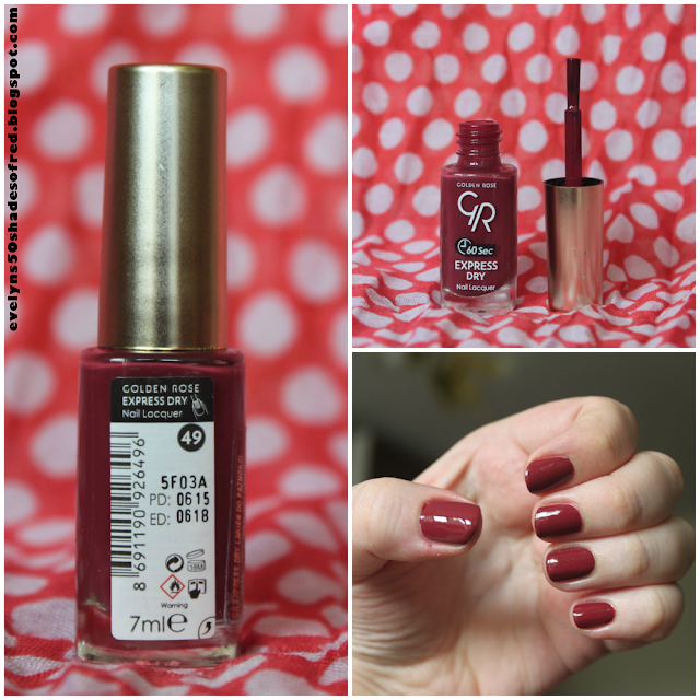 Golden Rose Express Dry Nail Polish #49