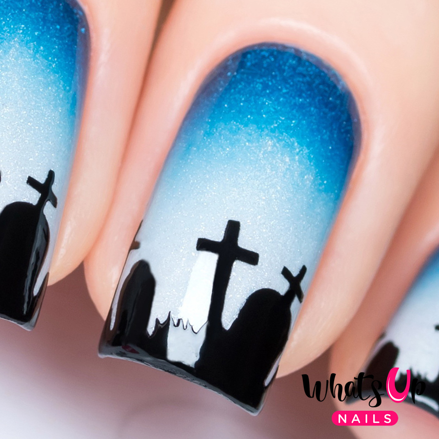 click here to view the graveyard nail vinyls on nail polish canada