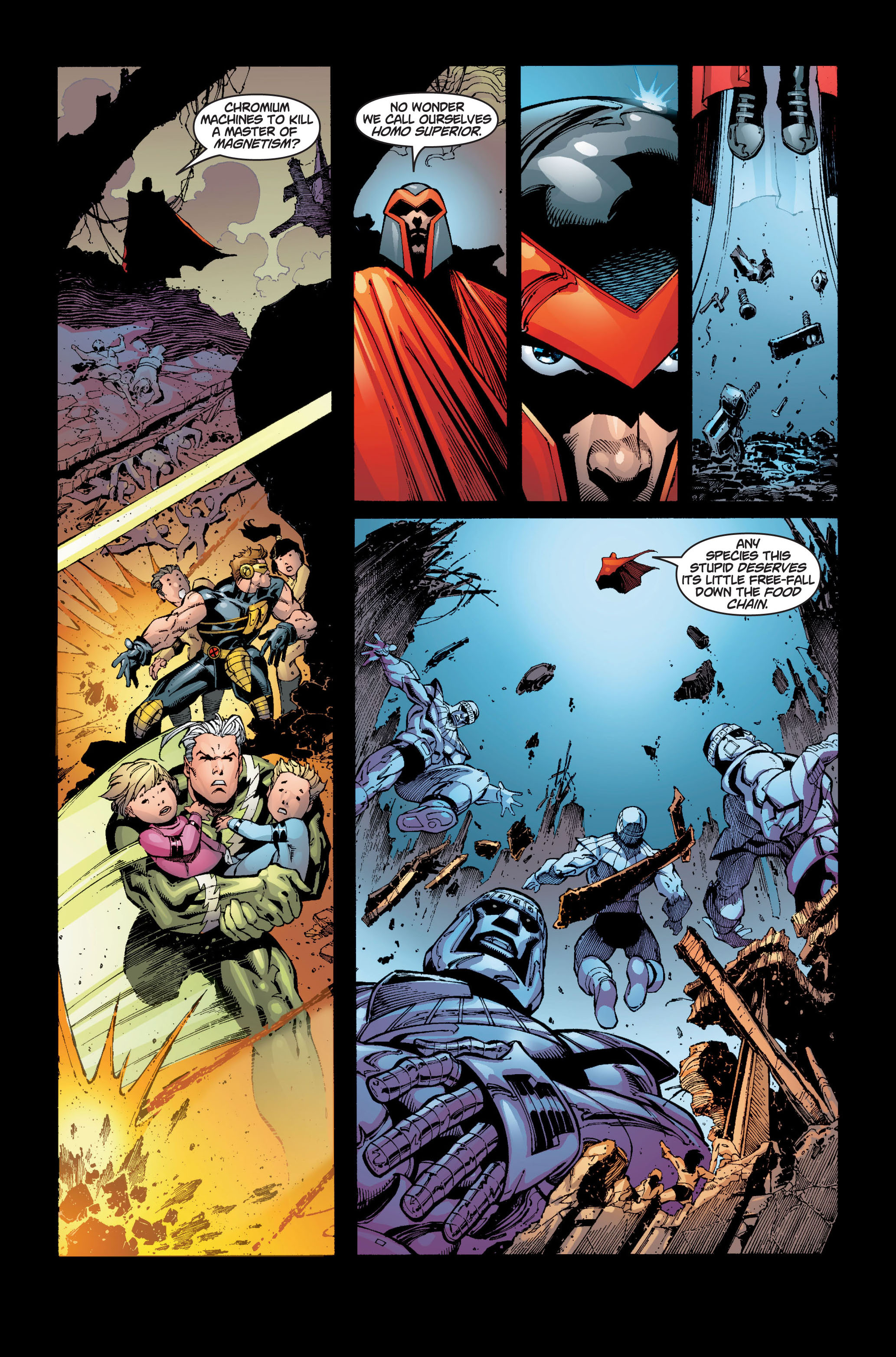 Read online Ultimate X-Men comic -  Issue #5 - 18