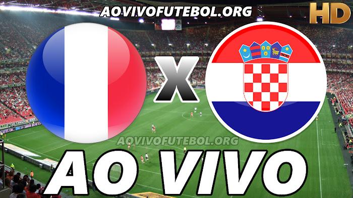 Assistir França x Croácia Ao Vivo HDTV