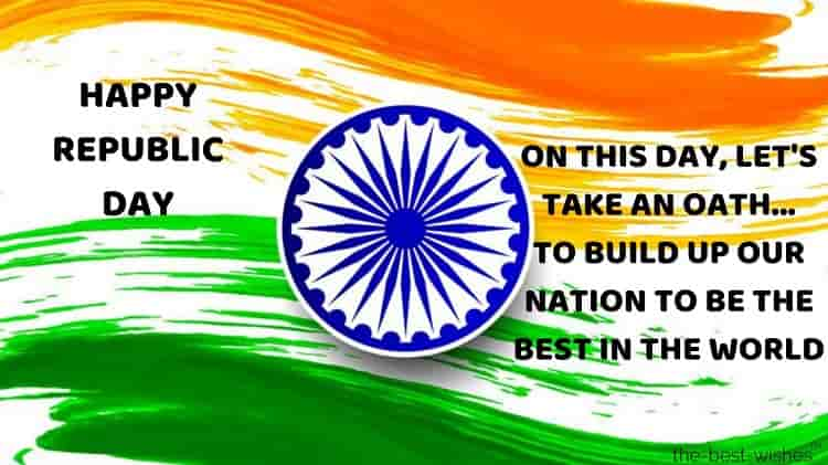 happy republic day india photos with message