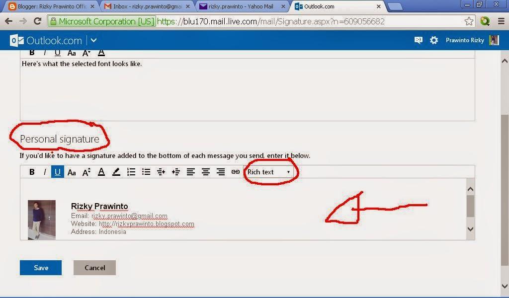 tips membuat signature email lebih