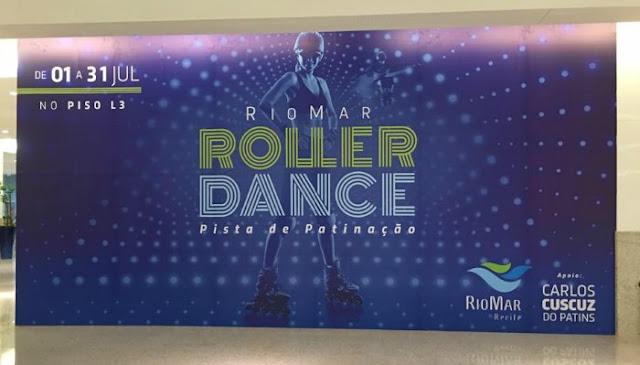 Roller Dance Patinação no RioMar