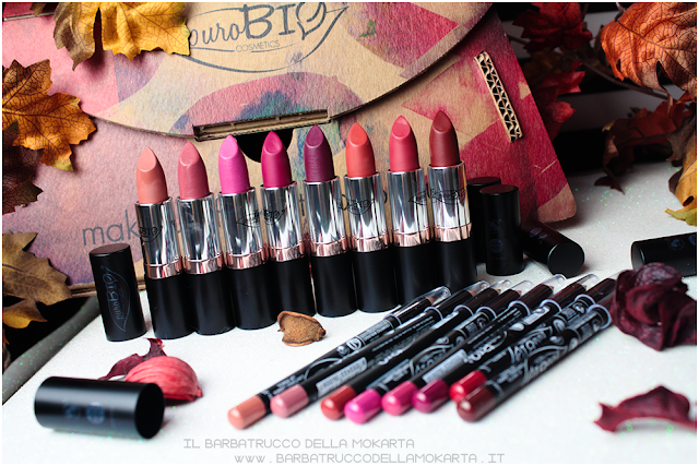 rossetti purobio , lipstick, vegan makeup, bio makeup, review
