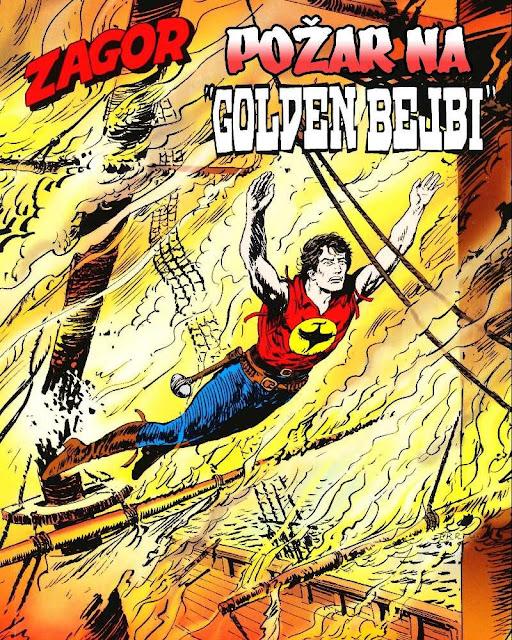 Pozar na ''Golden Bejbi'' - Regularna Serija - Zagor