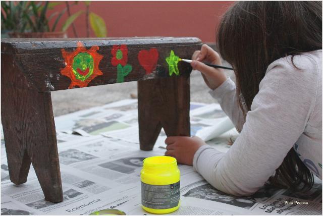 como-pintar-silla-metal-pintura-fluor-niña