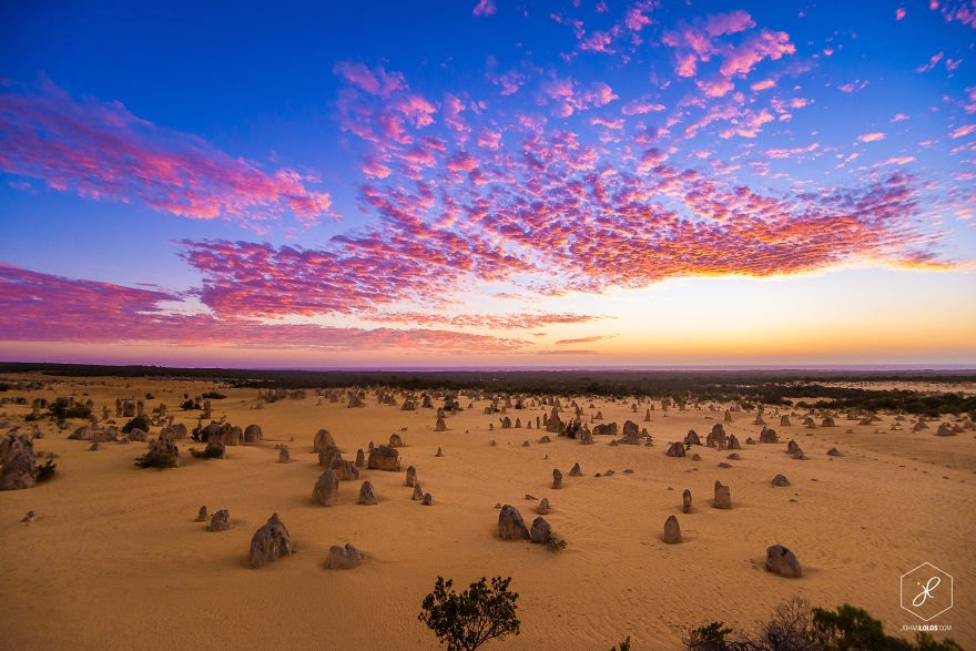 Pinnacles, WA - Man Travels 40,000km Around Australia and Brings Back These Stunning Photos