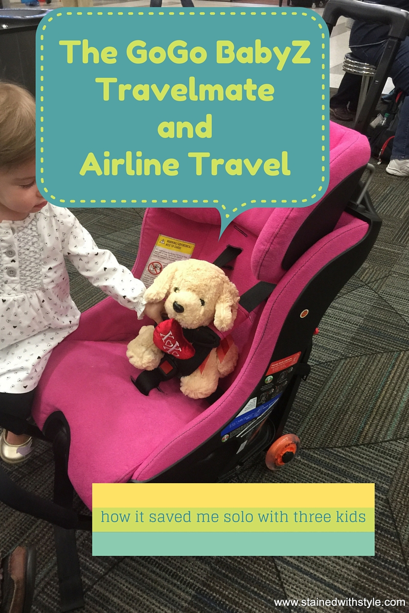 Using Go Kidz Travelmate With My Clek Fllo On A Airplane