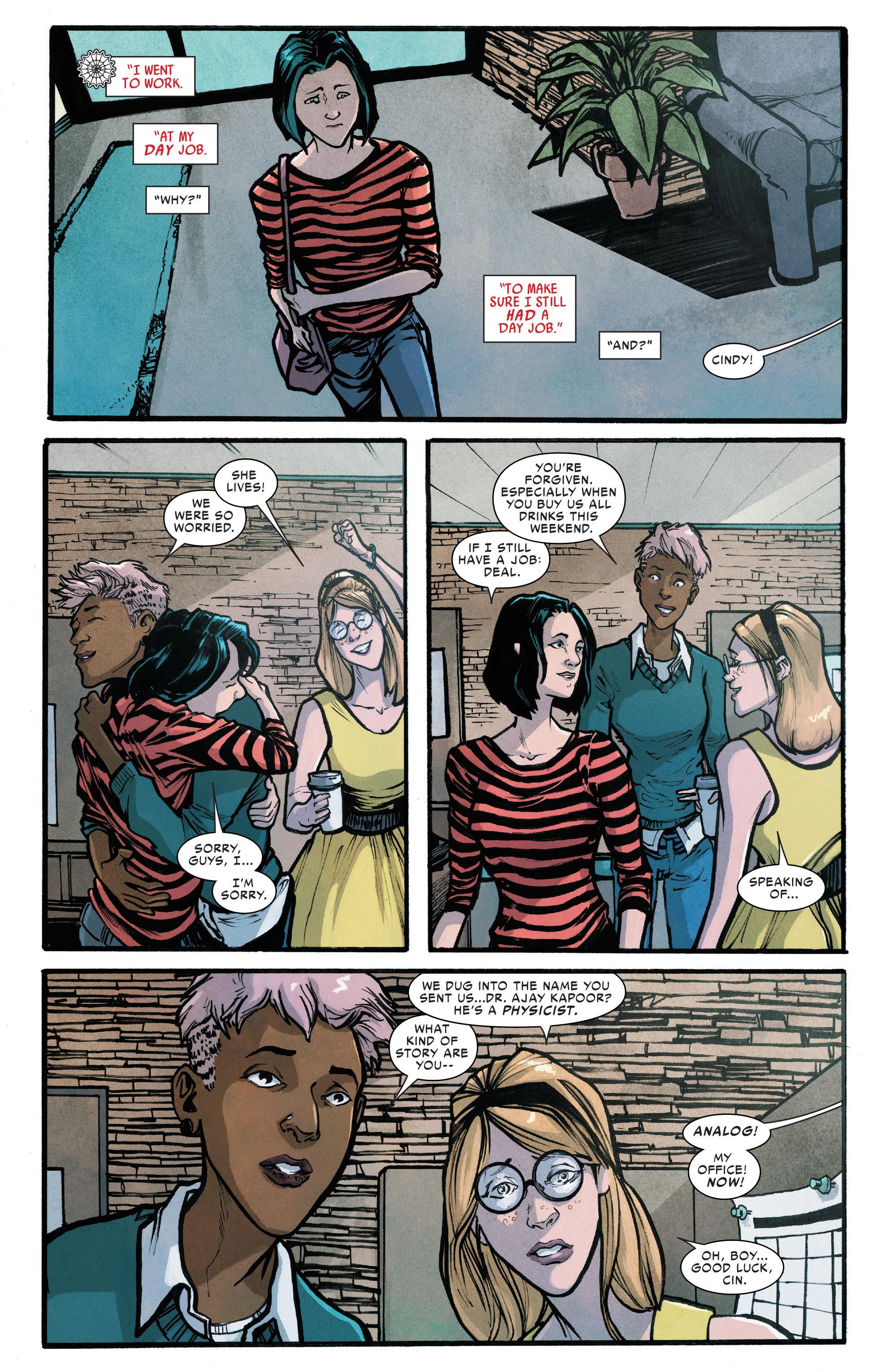 Read online Silk (2016) comic -  Issue #6 - 4