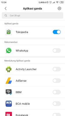 Membuat 2 Whatsapp menggunakan Aplikasi Ganda