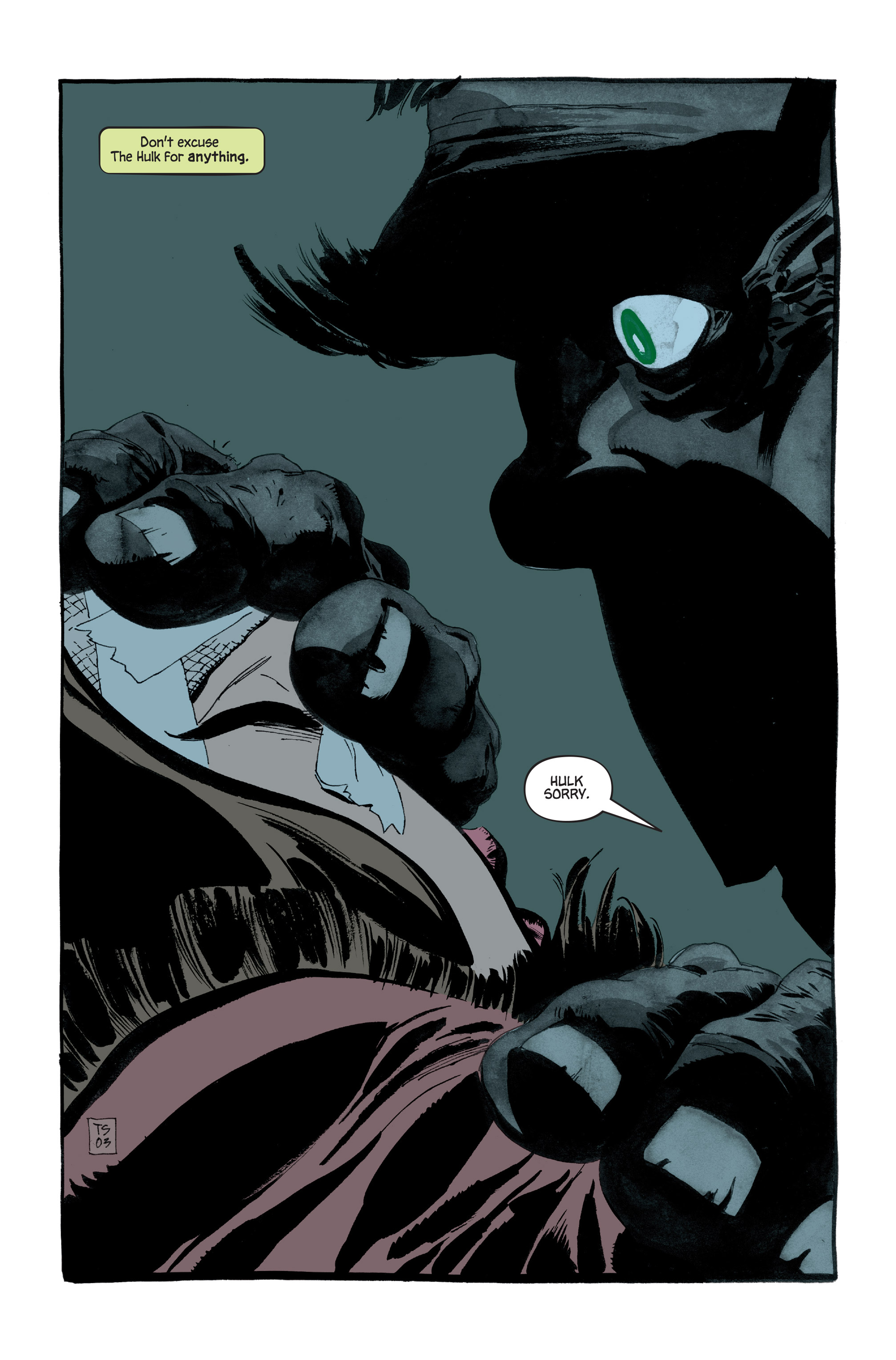 Read online Hulk: Gray comic -  Issue #5 - 7