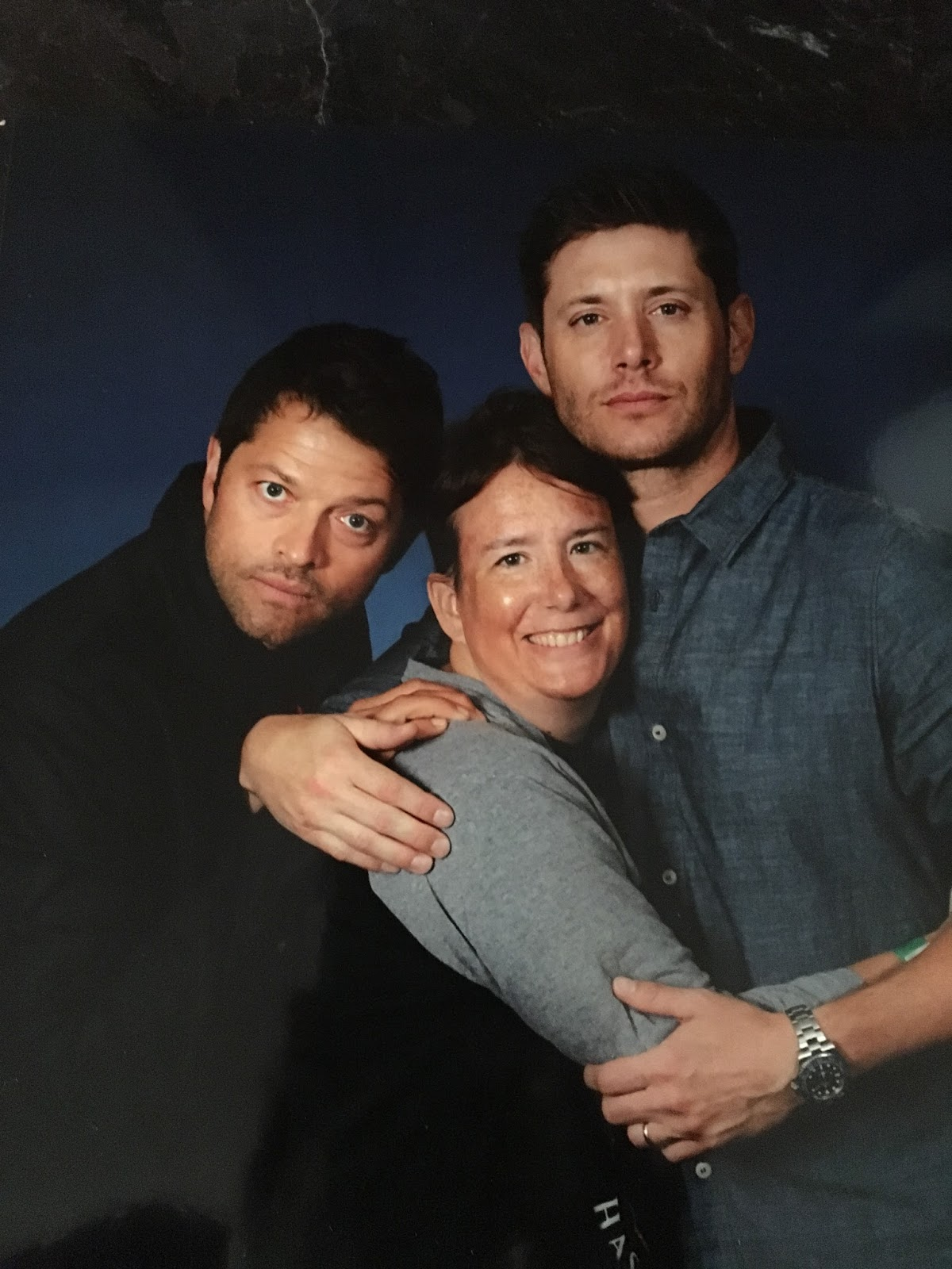 New adventures july 2017 im really happy with my one with misha collins and jensen ackles their faces look like their characters kristyandbryce Images