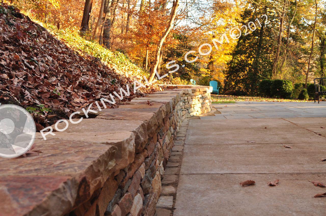 ROCKIN WALLS: Merrymount Roland Park, Finished Project, Nov 2012