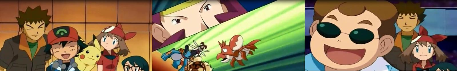 Pokemon Capitulo 8 Temporada 9 Tácticas Teatrales