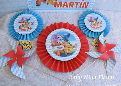 custom birthday kit superwings