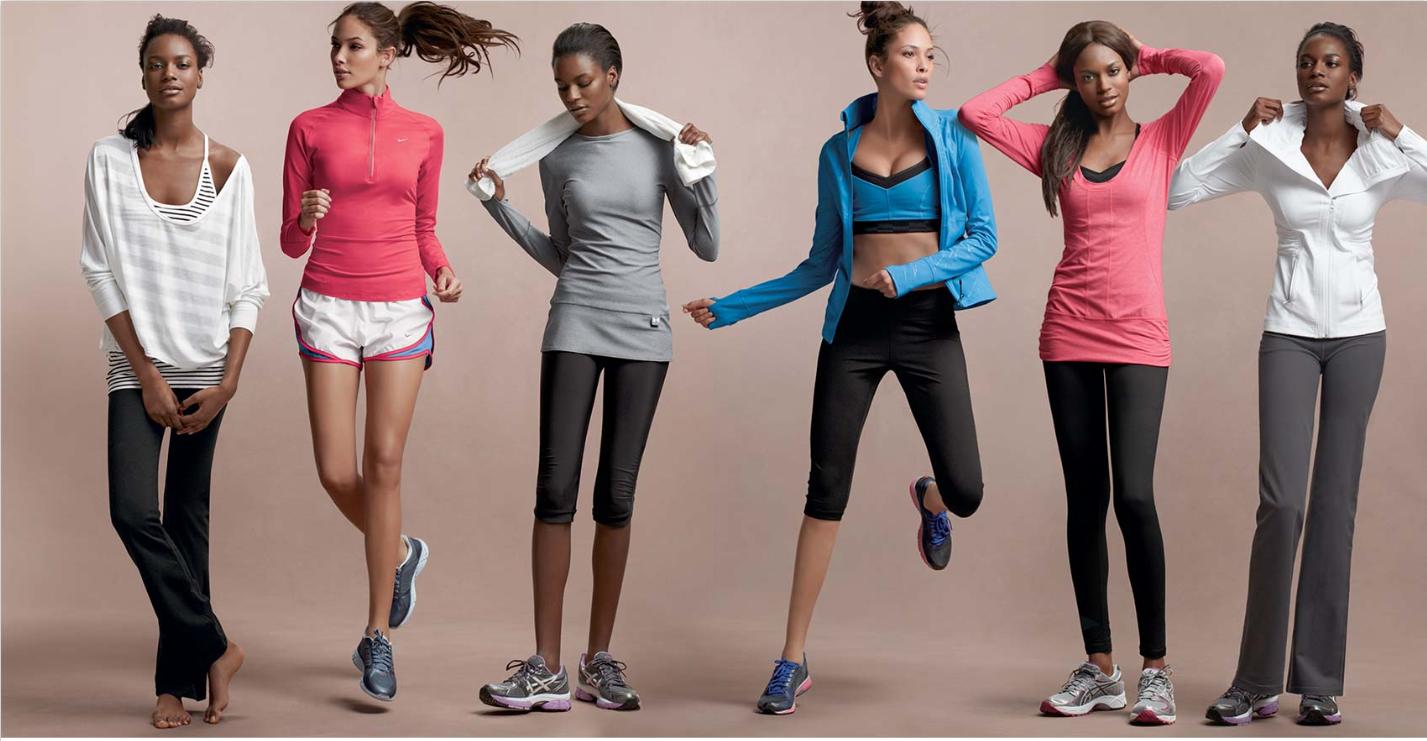 Fashion workout clothes