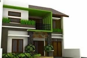 desain rumah minimalis type 45 bertingkat