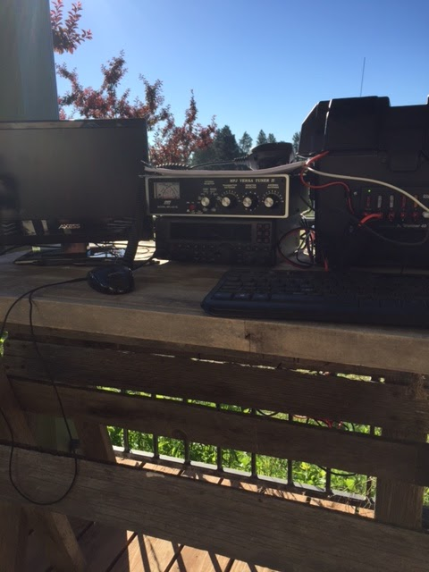 Shack and Field: Amateur Radio Activities: Field Day Settup