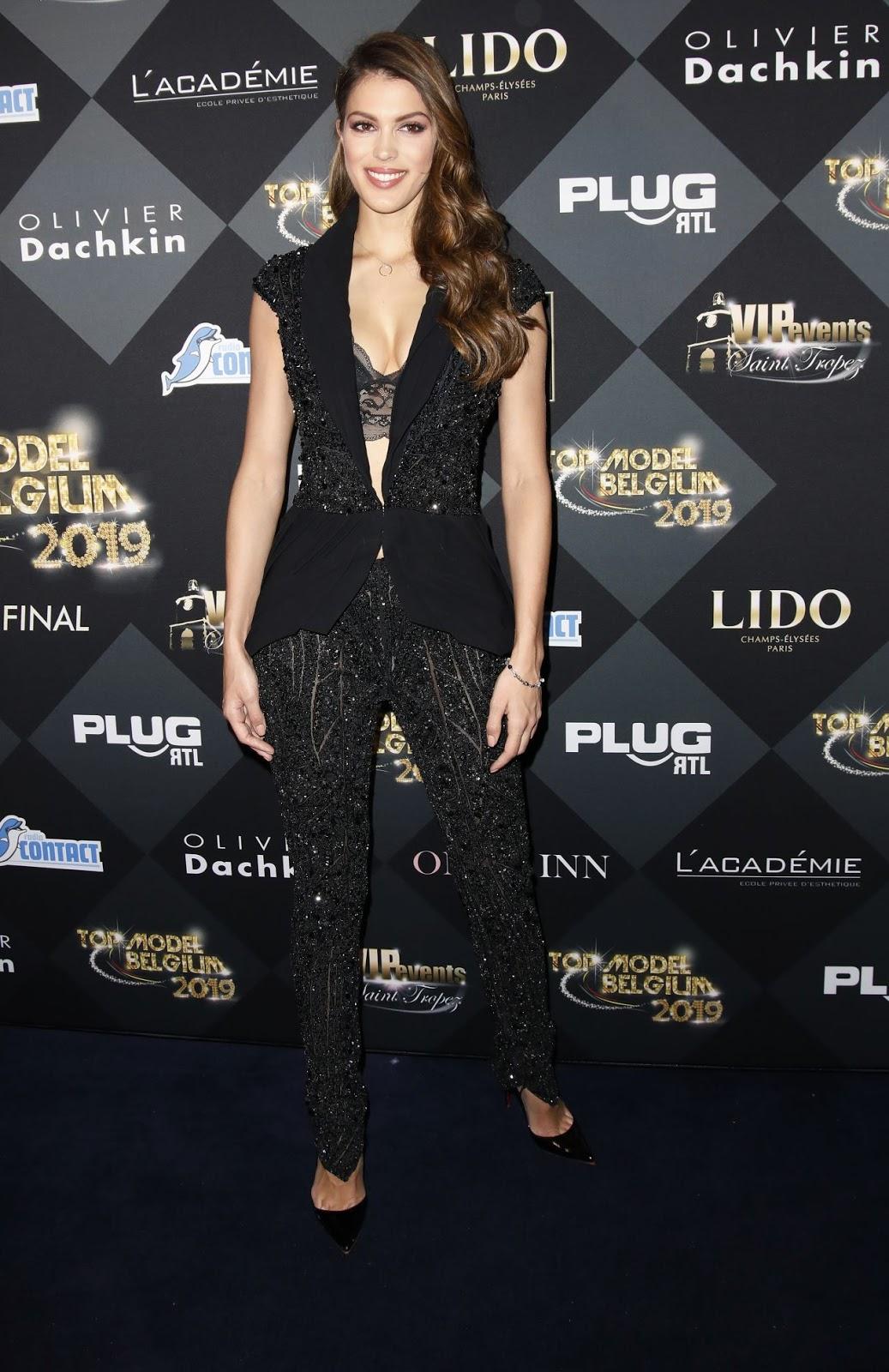 Iris Mittenaere - 2019 Top Model Belgium Event in Paris - 02/03/2019