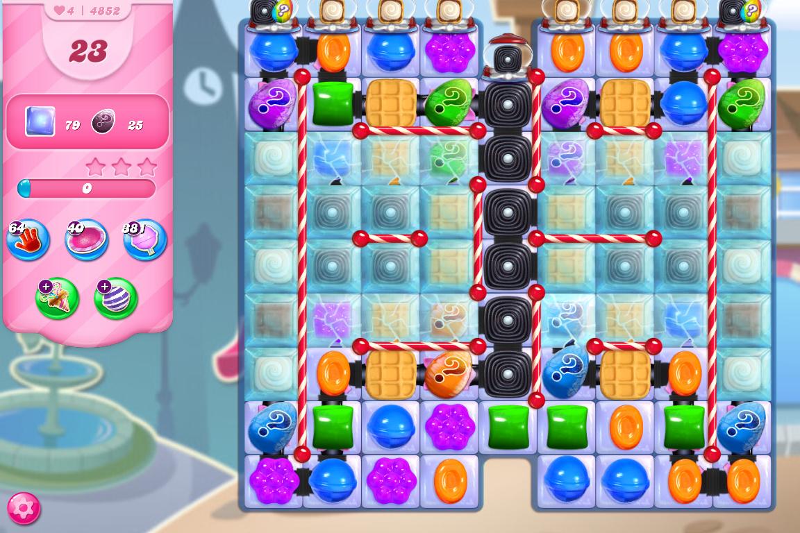 Candy Crush Saga level 4852