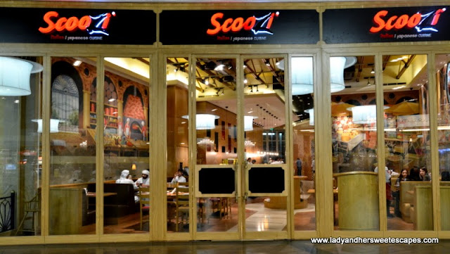 Scoozi in Dubai Mall