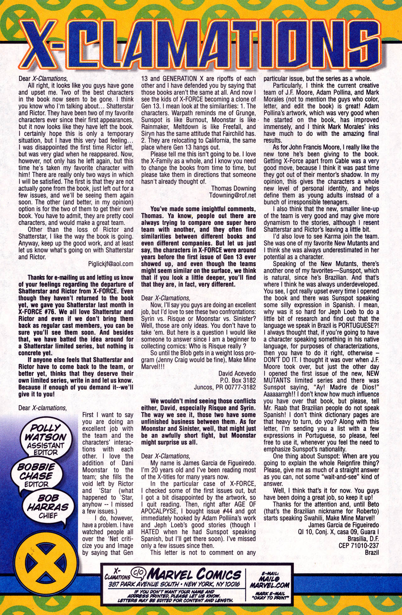 Read online X-Force (1991) comic -  Issue #77 - 21