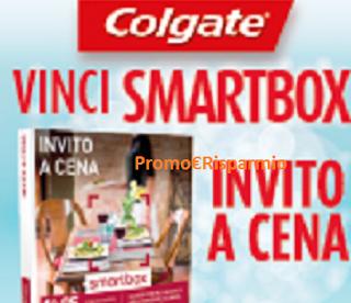 Logo Con Colgate, Fabuloso, Palmolive e Ajax vinci cofanetti Smartbox