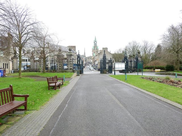 Gates into park