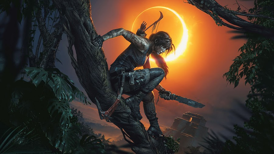 shadow of the tomb raider lara croft art