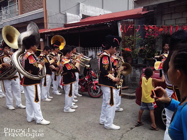Talisay's marching band