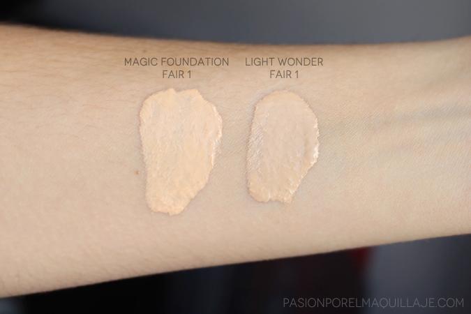 Light Wonder vs Magic Foundation Charlotte Tilbury