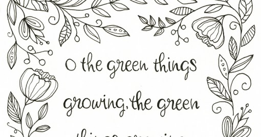 Everyday Artist: Hand-Lettered Quote #2 + Print Giveaway!