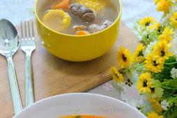 Tomato Pork in Sweet Chilli Baked Bean Mui Fan 番茄肉丝焗豆烩饭